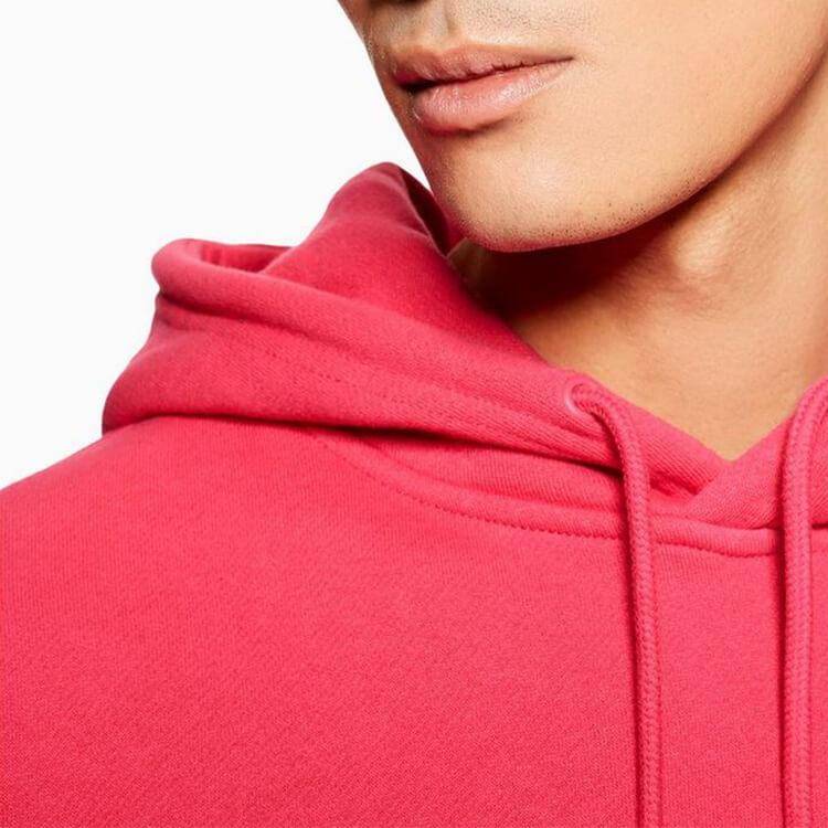 Men/'s Plain Red Pullover Hooded sweatshirt Hoodie Hoody High Quality Cotton